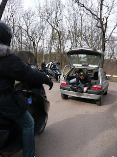 tournage piaggio X7