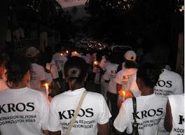 Marche silencieuse á Jacmel (12 février)