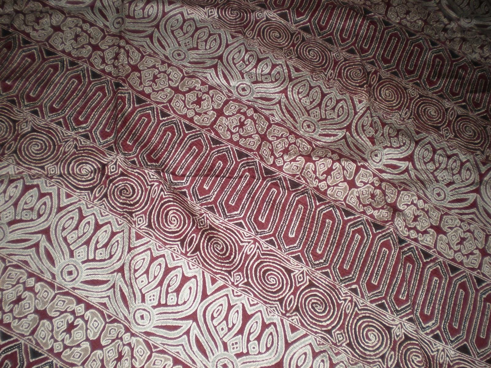 Kain Batik Sutera ATBM Wajo 125m b15
