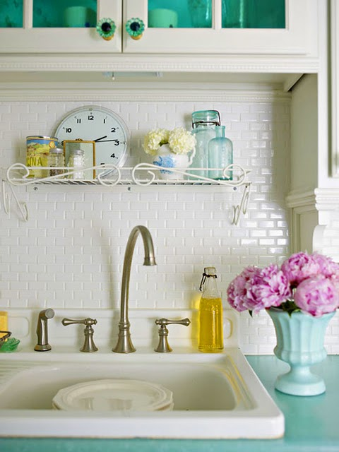 Use the right size grout joints for Glass Subway Tile