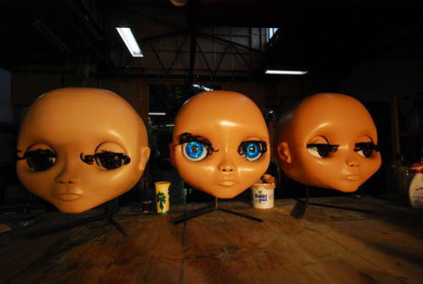 Doll Heads without wigs