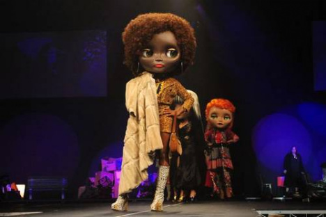 Doll Head on Runway