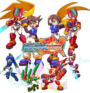 Juegos para nintendo Ds  Megaman+zx