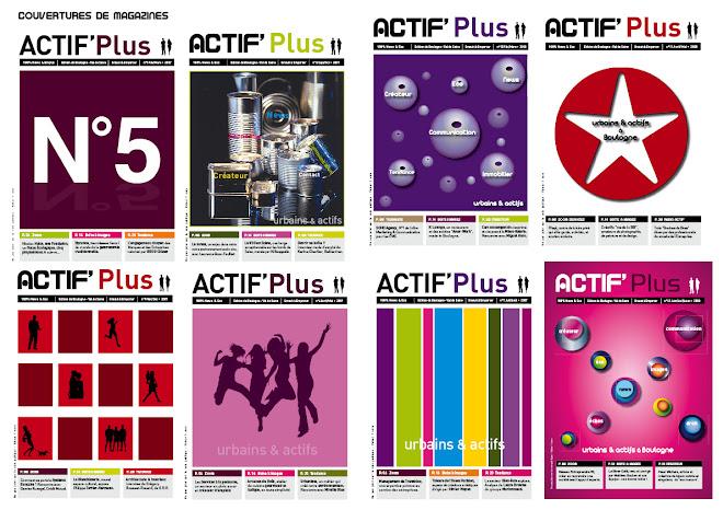 ACTIF' Plus Magazine à la Une