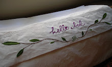 i embroidered: this pillowcase