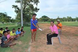 การทดสอบสถิติและเตรียมความพร้อมการแข่งขันกีฬาเยาวชนแห่งชาติ