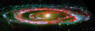 Andromeda Galaxy image by NASA/JPL-Caltech