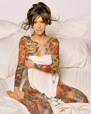 The Hottest in Sexy Tattoo Fashions