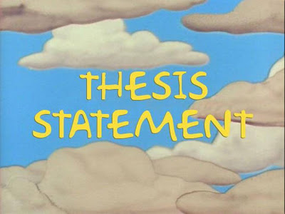 thesis statement how