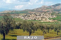 View of RAJO near AFRIN - Syria