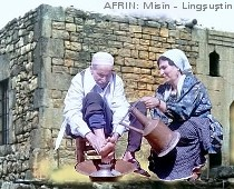 Classical feet wash in Afrin