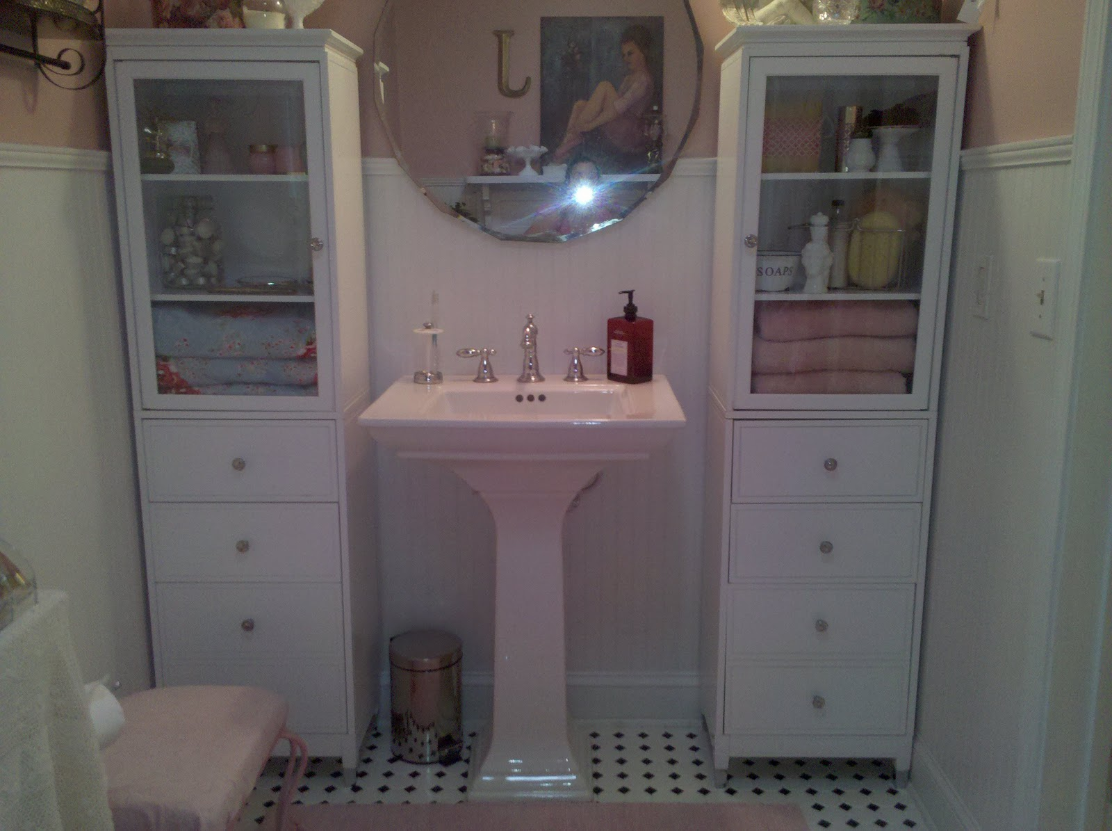 The Hopeless Romantic Shabby Chic Master Bathroom