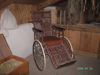 Naranjaycanela settembre 2008 for Sedia a rotelle automatica