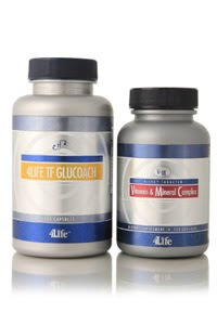 4Life TF Glucoach + 4Life Targeted Vitamin&Mineral Complex