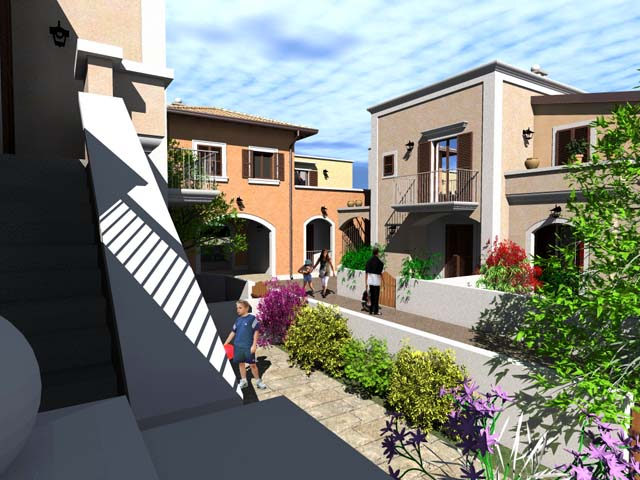 Ville in vendita a santa caterina di nard borgo cenate complesso di 6 ville in costruzione - Stile immobiliare nardo ...