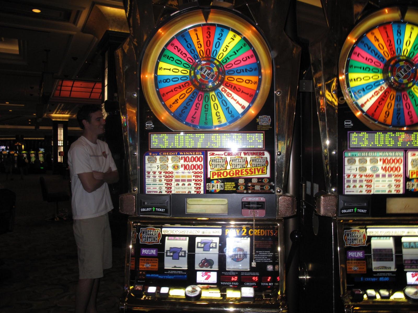 wheel of fortune 5 dollar machine lexington
