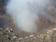 Un dels cràters del volcà
