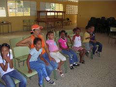 La Maria amb els nens
