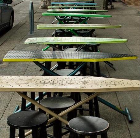 Linda & Harriett: Repurposed Ironing Boards