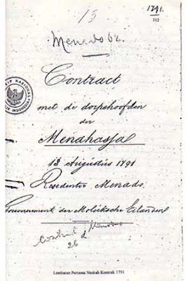 Belanda tanggal eighteen Agustus 1791 dalam bahasa Belanda, lembar