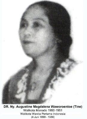 Walikota Wanita pertama Indonesia (1950 - 1951)