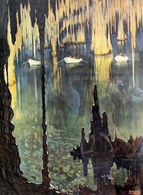 Cuevas del Drach y lago Martel, en Mallorca