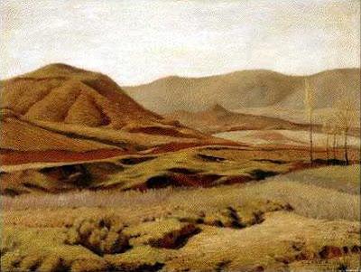 Paisaje de Castilla - Pintura de Lago Rivera