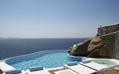El maravilloso hotel Cavo Tagoo, en la isla de Mikonos, Grecia