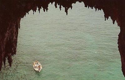 Grotta Meravigliosa, o Gruta Maravillosa, en Capri, Italia