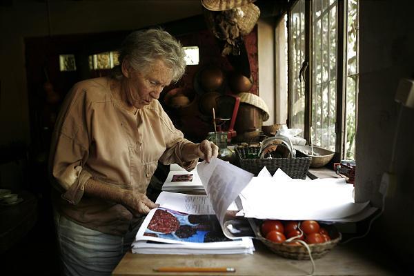 Diana Kennedy in Zitacuaro
