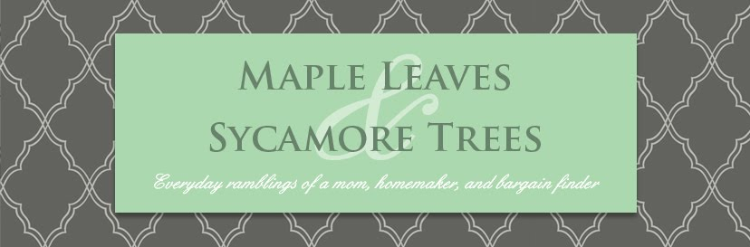 Maple Leaves & Sycamore Trees