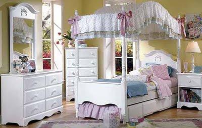 decoração quarto de princesas provençal