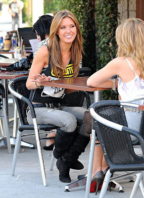 Audrina Patridge & Lo Film The Hills