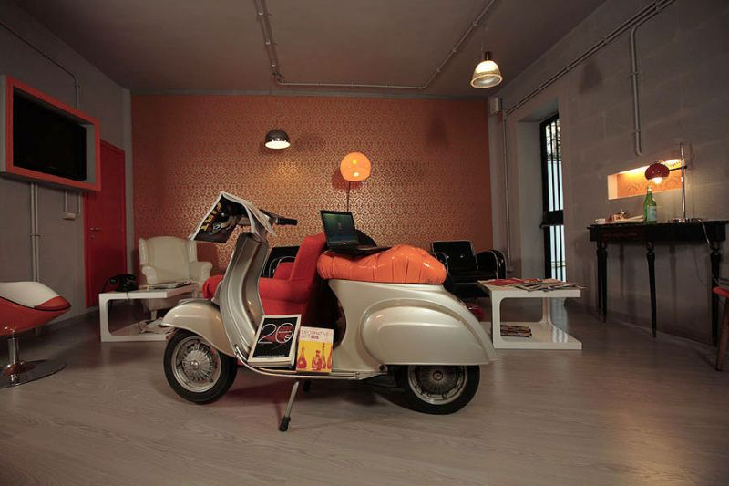The Orange Hotel Of Rome Is The Place Where Art Deco Gives A Free  Interpretation Of Style: A Play Of Innovative Experimentation In The  Architecture Of ...