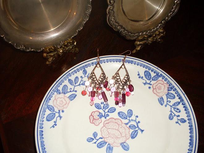 Brincos Pink Delicious