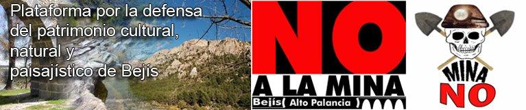 Bejís, mina NO. Plataforma por la defensa del patrimonio cultural, natural y paisajístico