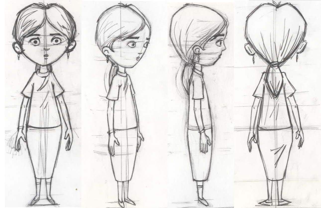 Character Design Essay : Artist making d character concept