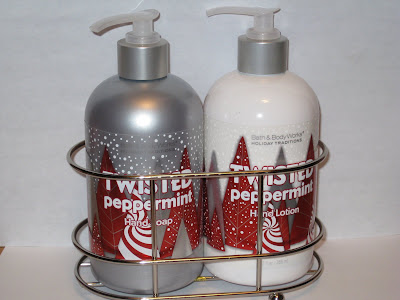 Bath and body works hand soap and lotion caddy musings Hand wash and lotion caddy