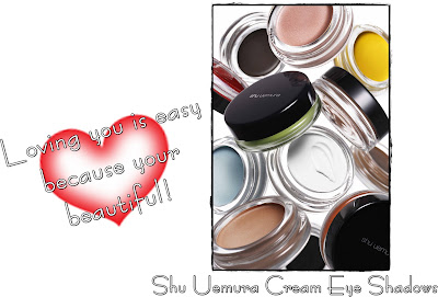 Shu+Uemura+Cream+Eye+Shadows