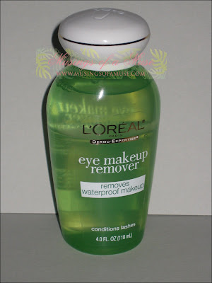 Reviews on Request  L   Oreal Eye Makeup Remover Review   Musings Of A Muse