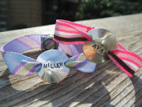 ribbon bracelet
