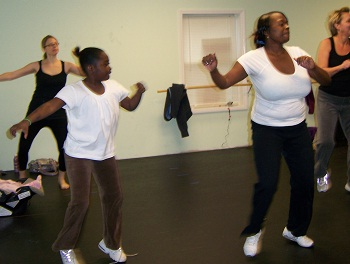 ... and Zumba class starts, please see our Adult Dance Class page.