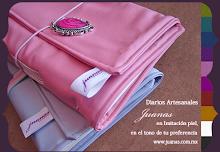 Nuevos! Diarios Artesanales Juanas