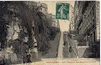 Escalier Sainte Marie (actuellement rue Paul Albert