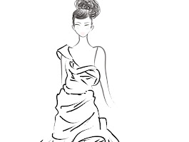 Fashion Design Sketches Coloring Pages