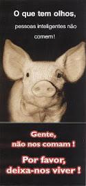 Campanha pela vida animal: