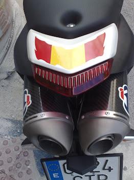 Trasera colin Ducati hypermotard