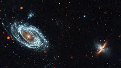 M81 y M82 fotografiadas por la sonda GALEX