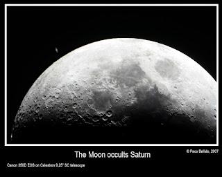 Ocultación de Saturno por la Luna 22/05/2007 III