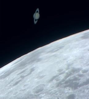 Ocultación de Saturno por la Luna 22/05/2007 V